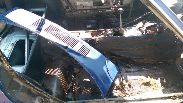 1971 Datsun 240z Solid Frame Rails Rolling Chassis For