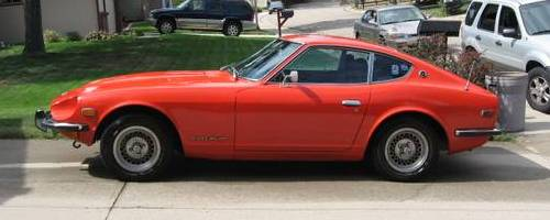1973 Red Orange Datsun 240z For Sale In Arvada Colorado 16 800