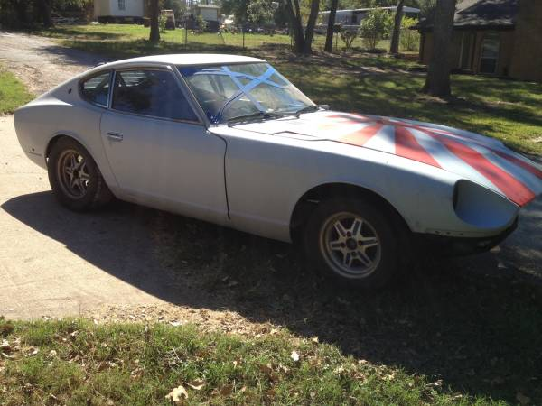 1972 Datsun 240z Roller Parts For Sale In Granbury Texas Ask Seller