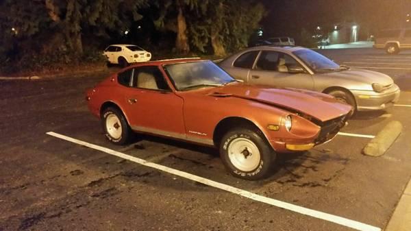 1971 Datsun 240Z L24 Automatic For Sale in Moreno Valley ...