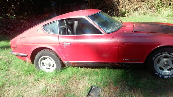 1972 Datsun 240z Bare Shell Restoration For Sale In Victoria Bc 20 000