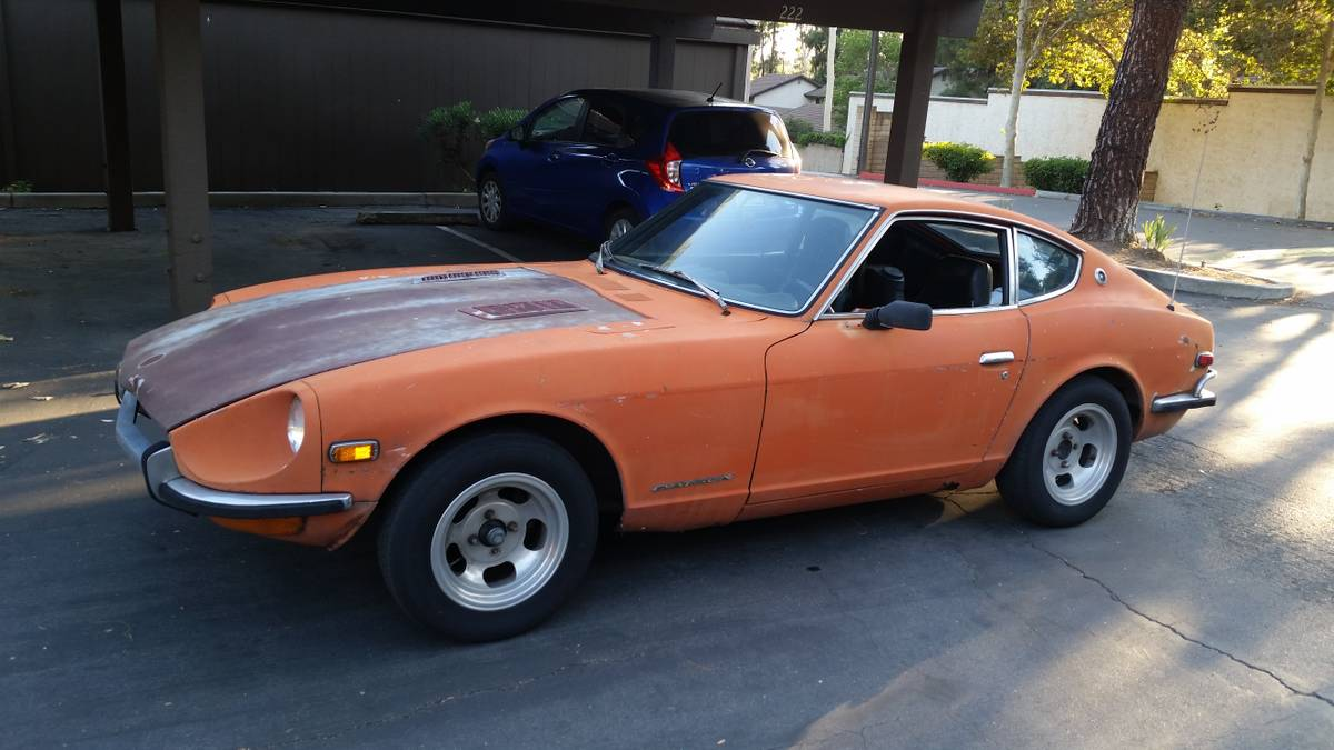 1972 Datsun 240Z Project 6 Cyl For Sale in Inland Empire ...