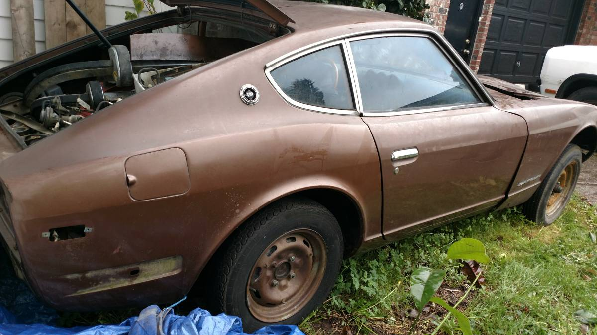 1973 Datsun 240z 6 Cyl Manual Project Car For Sale In Delta Bc 2 400