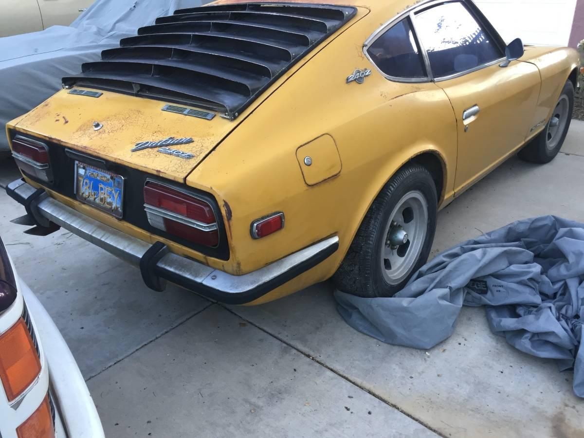 1970 Datsun 240Z Series One 4-Speed For Sale in Corona ...