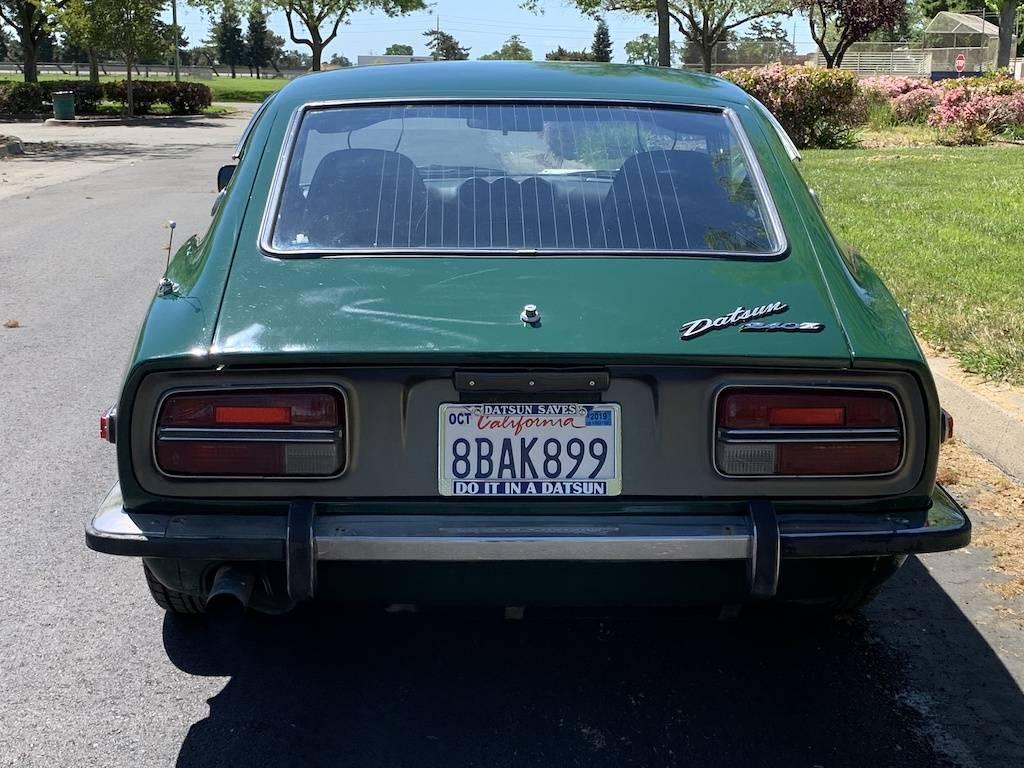 1971 Datsun 240Z Dark Green For Sale In Elk Grove, CA