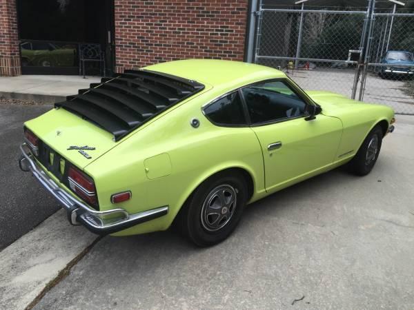 1972 Datsun 240Z V6 Manual For Sale in Raleigh, North ...
