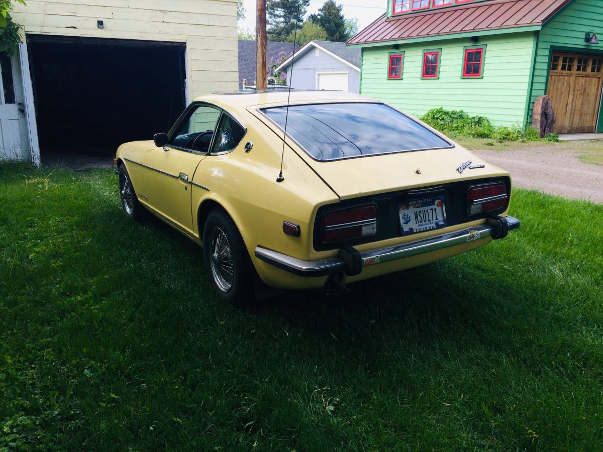 1973 Datsun 240Z Yellow Coupe For Sale in Bozeman, MT