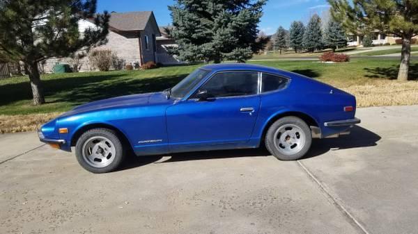 1972 Datsun 240Z Blue For Sale in Longmont, CO