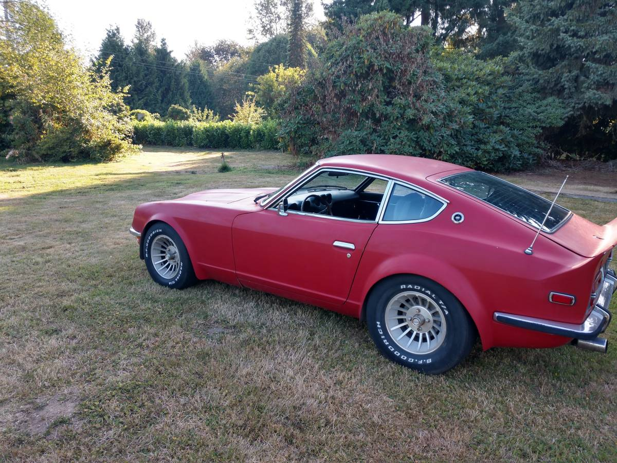 1972 Datsun 240Z Red V6 Automatic For Sale in Snohomish, WA