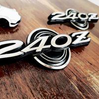 Z-Car 240Z Series 1 Quarter Panel Emblem